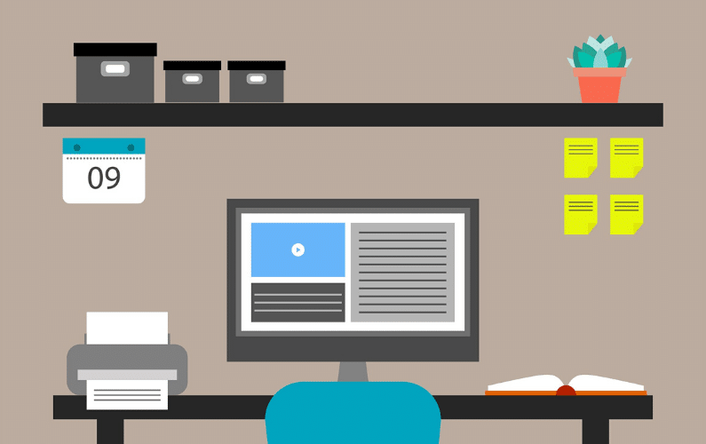 Microsoft 365 Remote-Work from Home Graphic